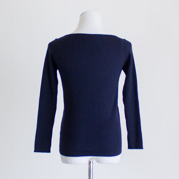 Everlane Luxe Wool Boatneck Sweater - Medium