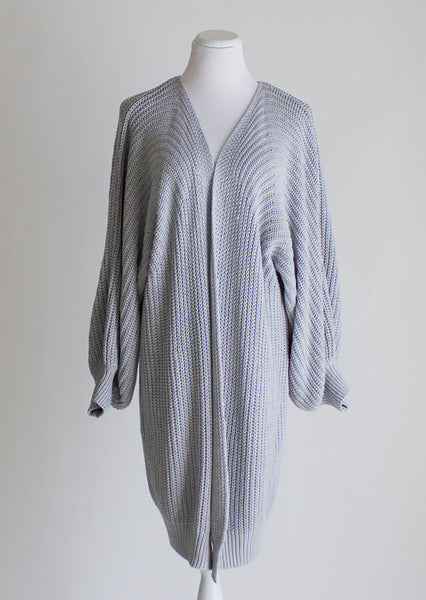Anthropologie Long Cotton Cardigan - Large