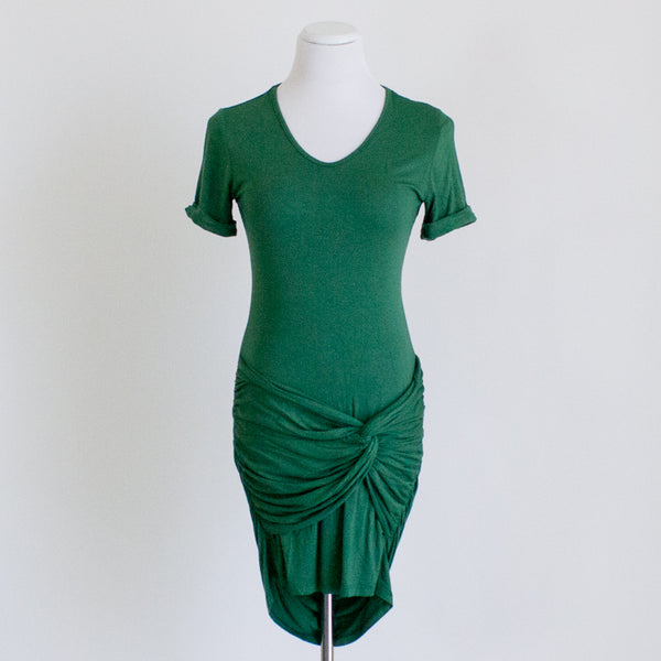 Amour Vert Organic Cotton Jersey Dress - Small