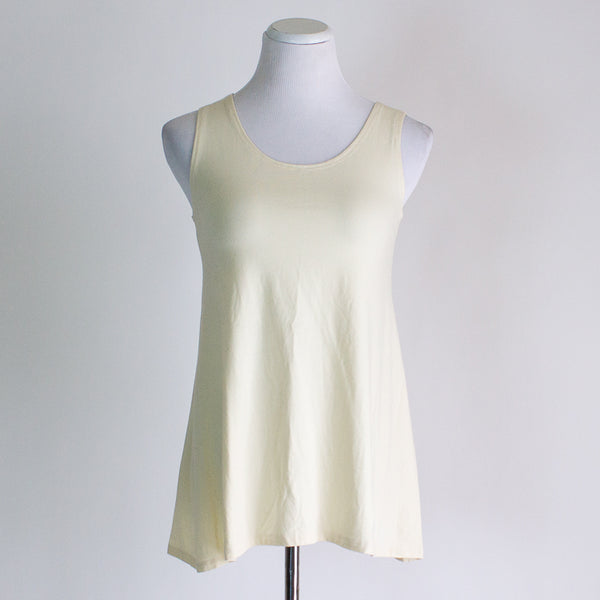 Buttercream Flowy Tank - Medium