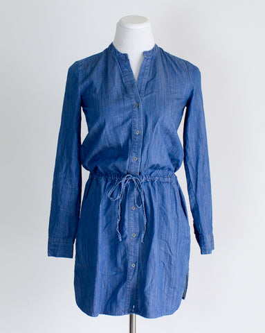 Brass Clothing Chambray Dress - XS