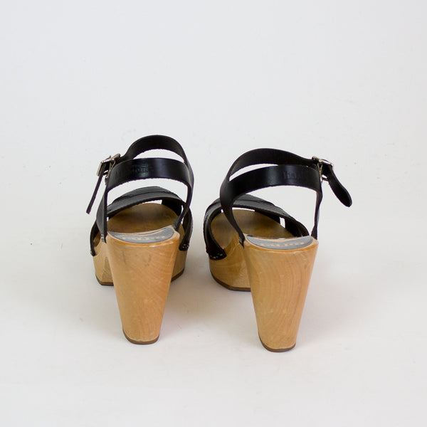 Swedish Hasbeens Suzanne Sandals - 36