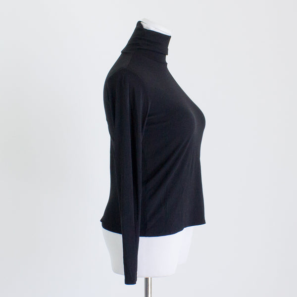 Eileen Fisher Washable Silk Turtleneck - XS