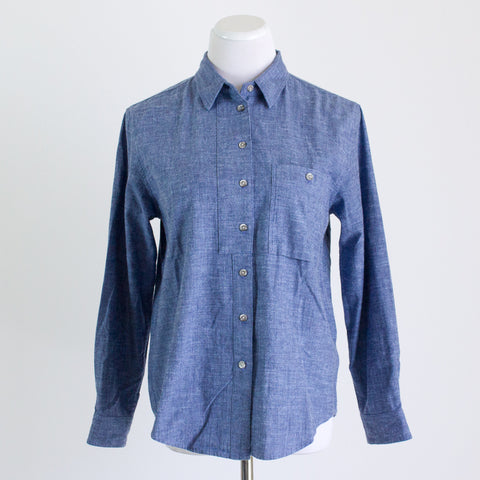 Power of My People Chambray Shirt - Medium