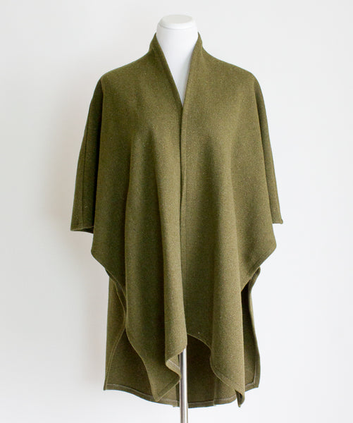 Emlee Recycled Wool Cape