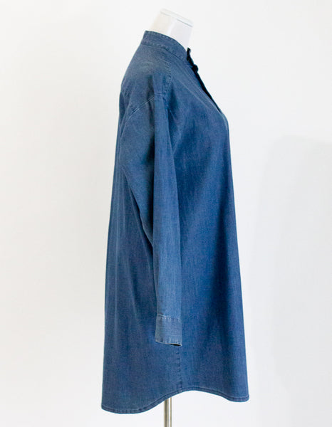 Eskandar Chambray Dress - 1