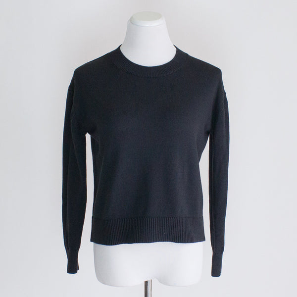 Everlane Soft Cotton Crew Sweater - XS