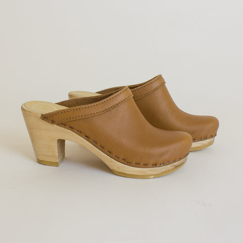 No6 High Heel Clogs - 36