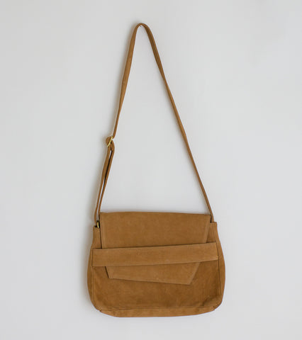 Ceri Hoover Challon Bag - Cognac