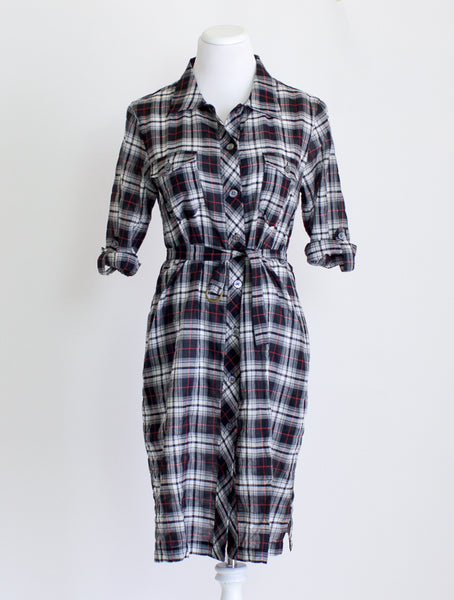 Archerie Plaid Shirtdress - 6