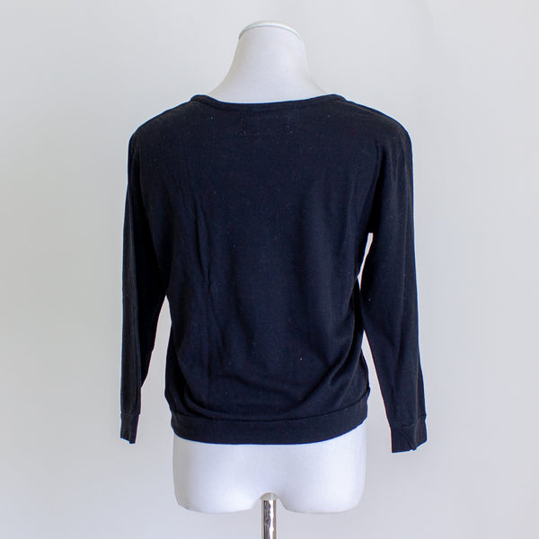 Lina Rennell Organic Cotton Crewneck Top - Medium