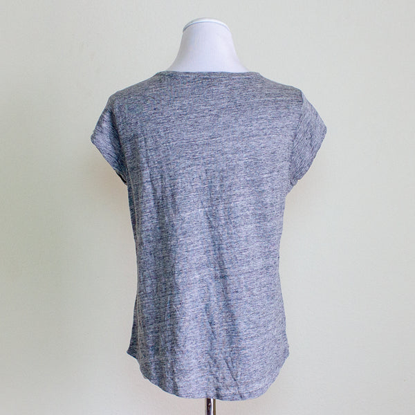 Paige Linen Tee - Large