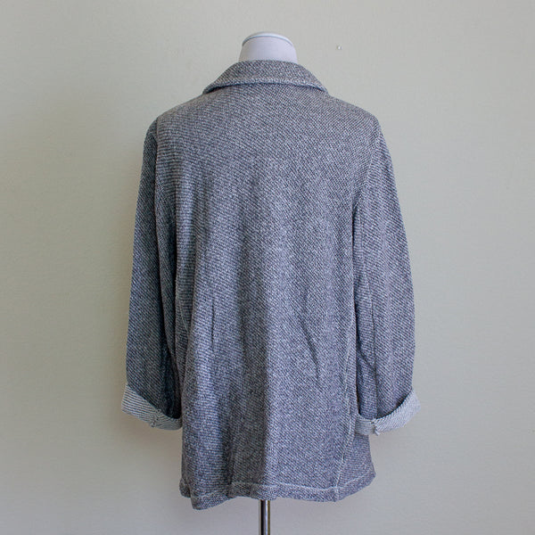 Eileen Fisher Organic Cotton Knit Jacket - XL
