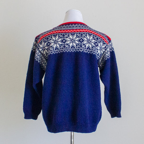Fair Isle Sweater - S/M