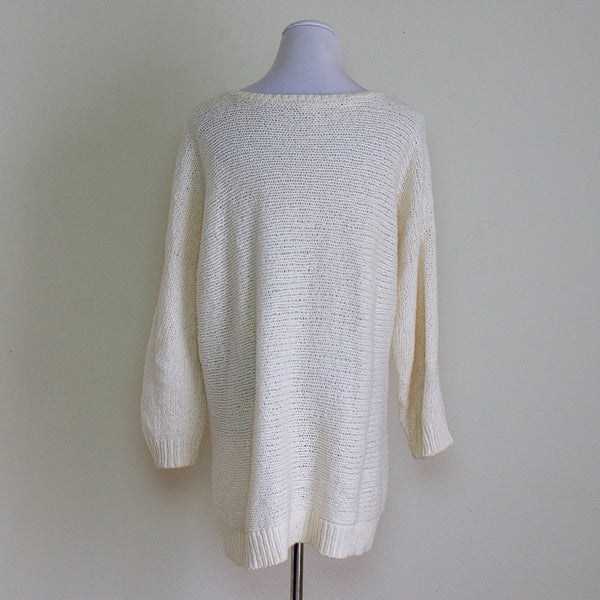 Eileen Fisher Long Sweater - Medium