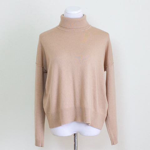 Cuyana Cashmere Blend Turtleneck - Large
