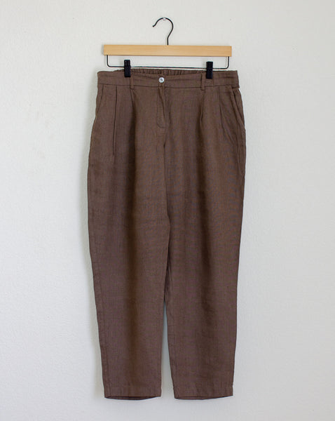 Ode to Sunday Hanna Linen Pants - Large