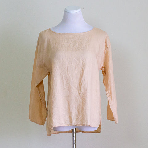 Eileen Fisher Linen Top - XS
