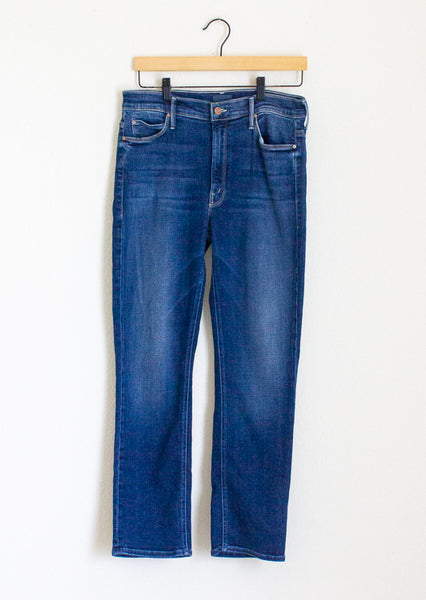 Mother Mid Rise Dazzler Ankle Jeans - 30