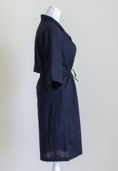 Kowtow Organic Cotton Lacquer Dress - XS