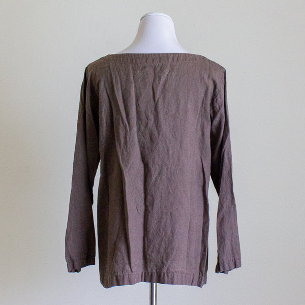 Not Perfect Linen January Top - S/M