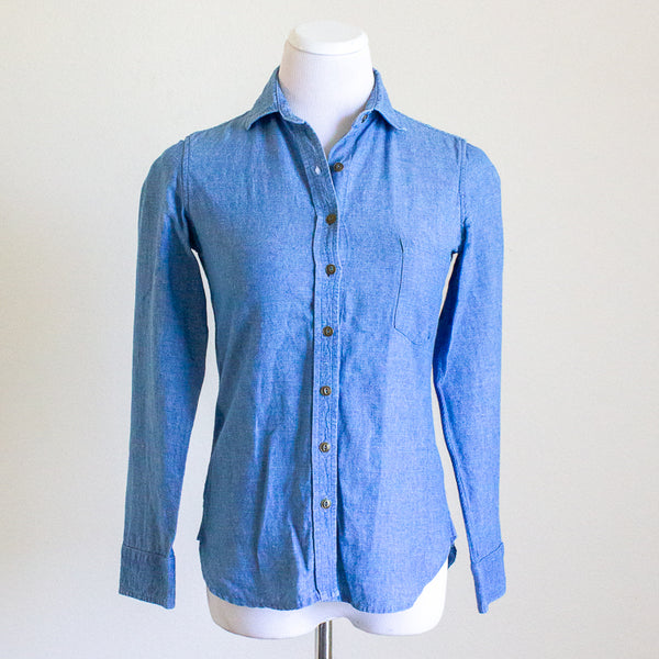 Tradlands Clare Chambray Shirt - XXS