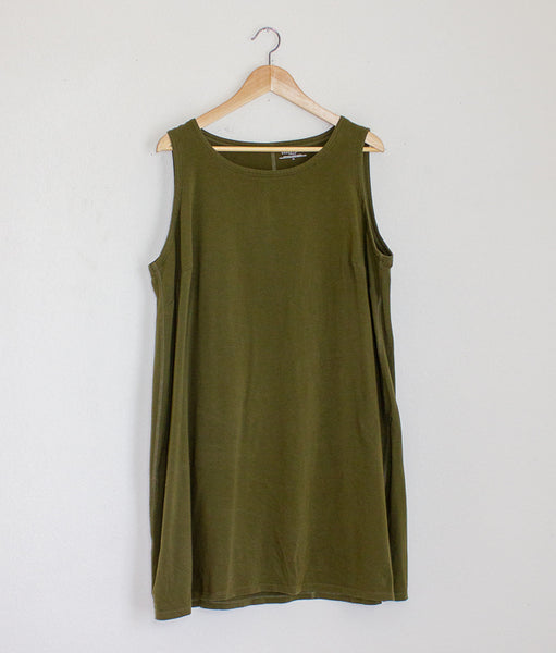 Eileen Fisher Organic Cotton Tank Dress - 1X