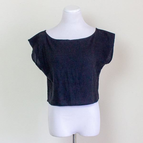 Ozma Cropped Tee - Large