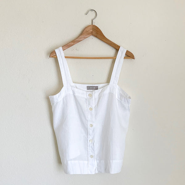 Everlane Linen Picnic Top - 12