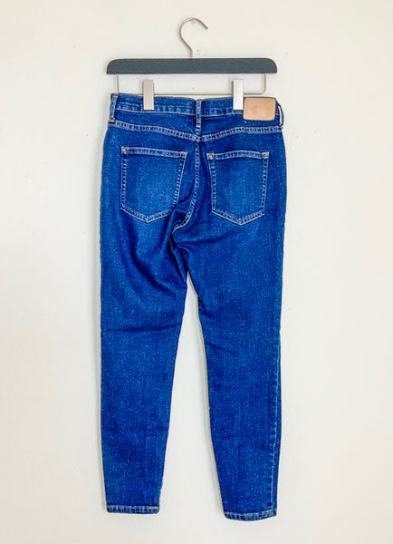 Everlane Authentic Stretch Mid-Rise Skinny Jeans - 28 Ankle