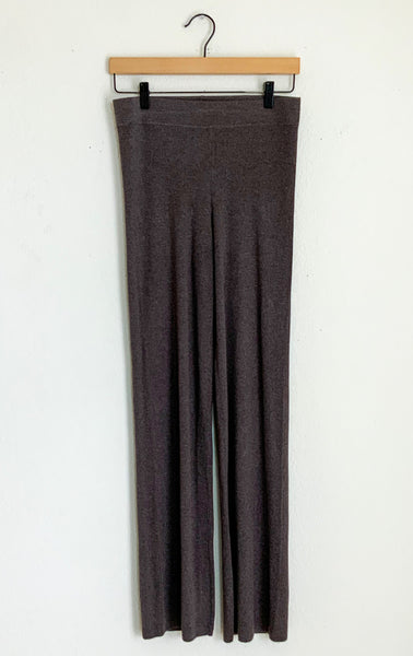 Naadam Ribbed Flare Pants - Medium