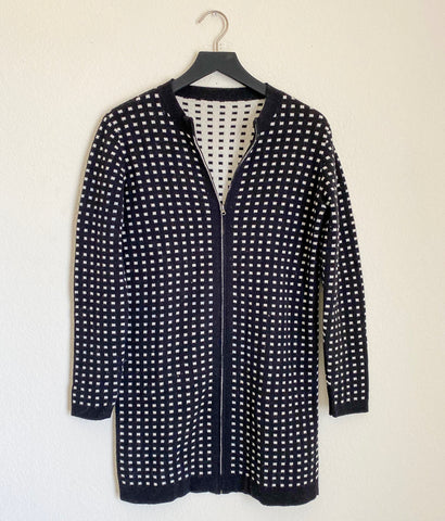 Cashmere Shop Reversible Cardigan - Small