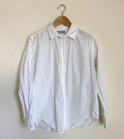 Everlane Cotton Poplin Button Down Shirt - 10