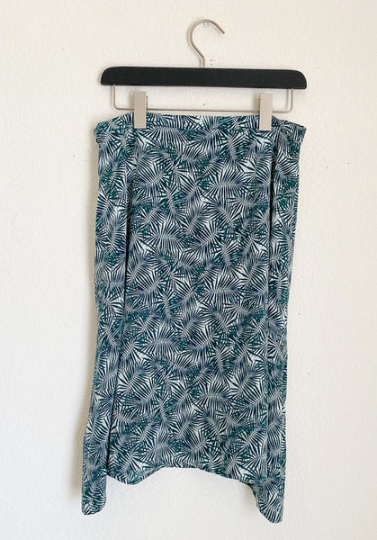 Amour Vert Silk Skirt - Medium