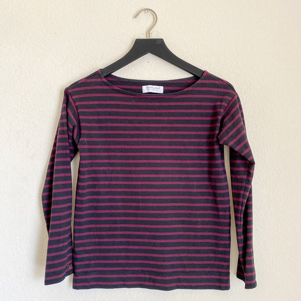 Everlane Heavyweight Striped Tee - Small