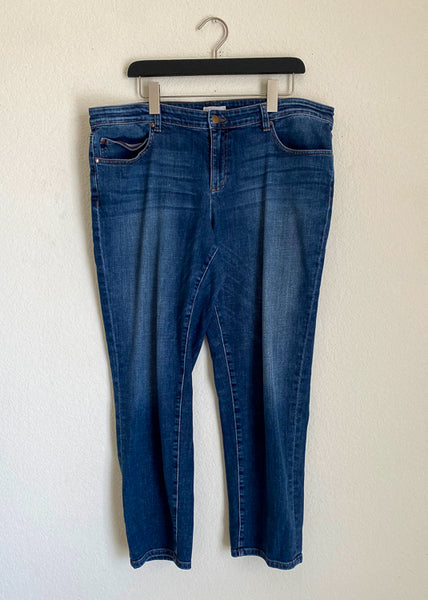 Eileen Fisher Organic Cotton Jeans - 16