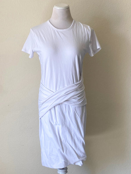 James Perse Belted Tee Dress - 4
