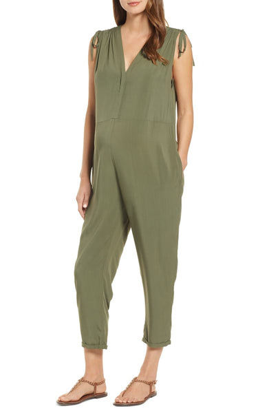 Hatch Collection Twilight Maternity Jumpsuit - 3