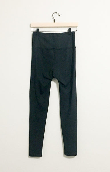 David Lerner Elliot Coated High Waisted Leggings - Small