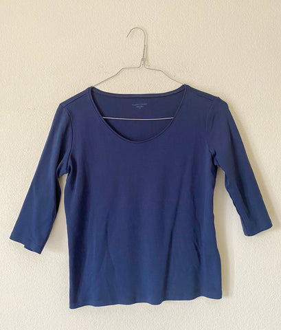 Eileen Fisher Organic Cotton Top - Small