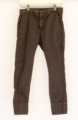 Hope News Trouser Black - FR34 & FR36 - slowre - 1