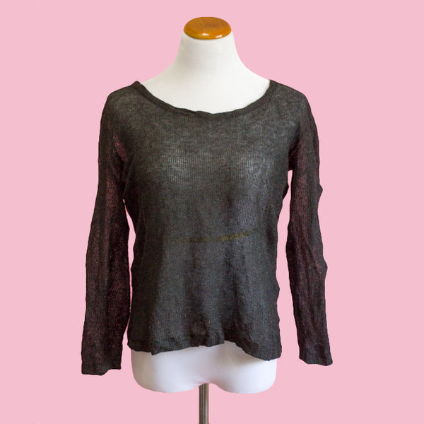 Inhabit Wool/Metallic sweater - Medium - slowre - 1