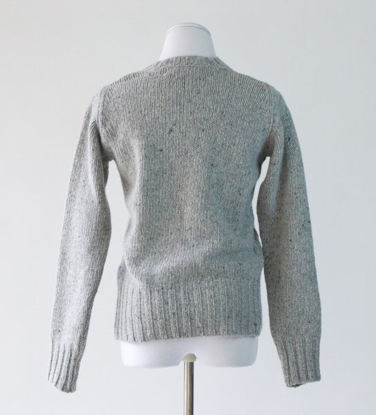 Irish Wool/Cashmere Sweater - Medium