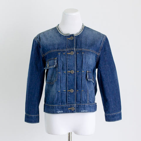 James Perse Denim Jacket - 1