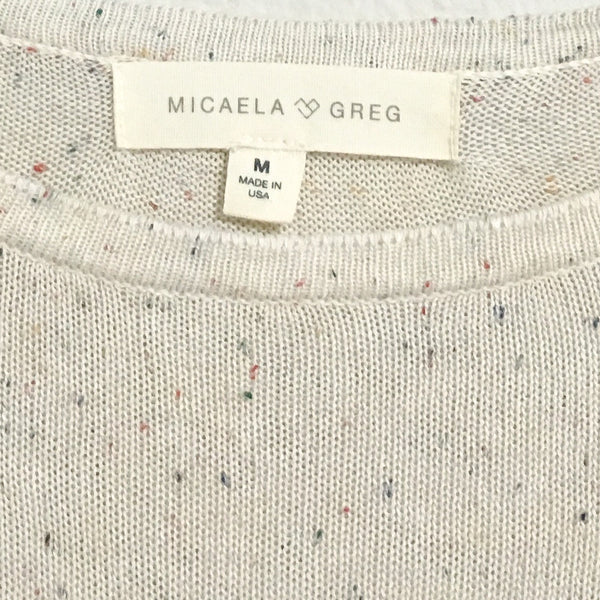 Micaela Greg Sheer Tee - Medium