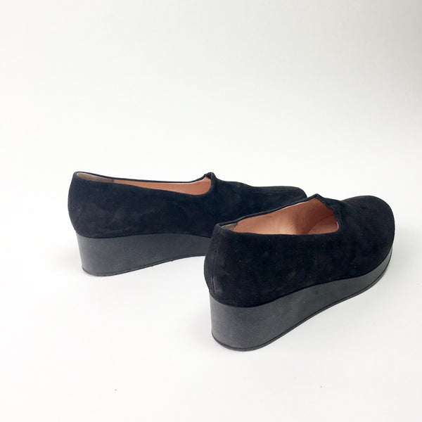 Robert Clergerie Nalo Wedges - 38.5