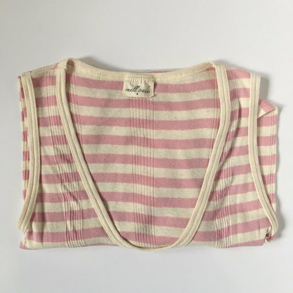 Small Trades Pink/Natural Stripe Dress - 2 - slowre - 3
