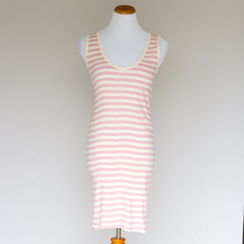 Small Trades Pink/Natural Stripe Dress - 2