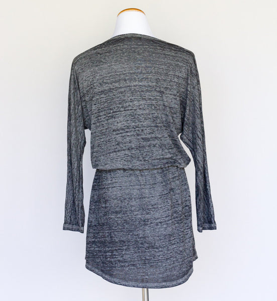 Solow Heathered Charcoal mini dress - Medium - slowre - 3