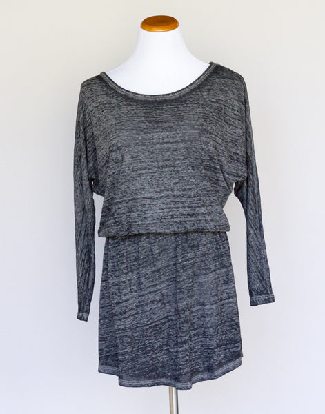 Solow Heathered Charcoal mini dress - Medium - slowre - 1